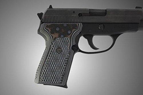 Hogue Hunting Grip Sig Sauer P239 Da/Sa Piranha G10 Black Grey