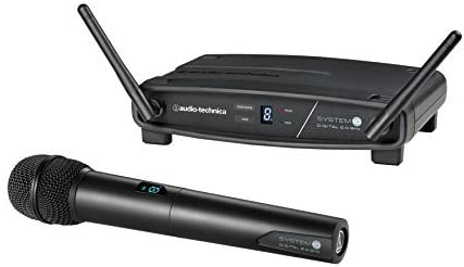 Audio-Technica System 10 ATW-1102 Wireless Handheld Microphone System