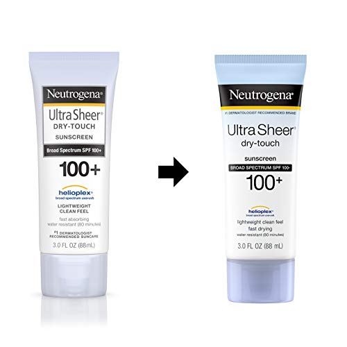 Neutrogena Ultra Sheer Dry-Touch Water Resistant and Non-Greasy Sunscreen Lotion with Broad Spectrum SPF 100+, 3 fl. oz 9