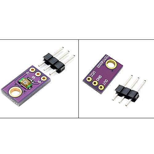 Comidox 4Pcs TEMT6000 Light Sensor Module Analog Light Intensity Module Visible Light Sensor for Arduino