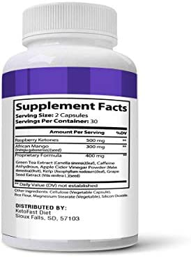 Keto Fast Diet Pills, Keto Fast Burn Weight Management Capsules - Pure Keto Supplement for Energy, Focus - Ultra Boost Exogenous Ketones for Rapid Ketosis for Men and Women - 2 Bottles 3