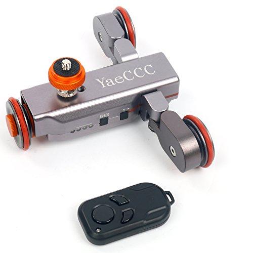 اسکیت بازکن برقی چرخ دستی برقی پیاده روی YaeCCC Pro II موتور سازگار با دوربین DSLR سازگار با دوربین DSLR