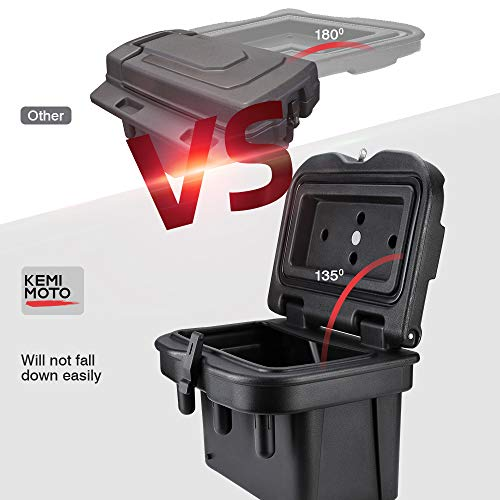Ranger Bed Box, KEMIMOTO Low-Density Polyethylene Device Box Compatible with 2016 2017 2018 2019 2020 Polaris Ranger General