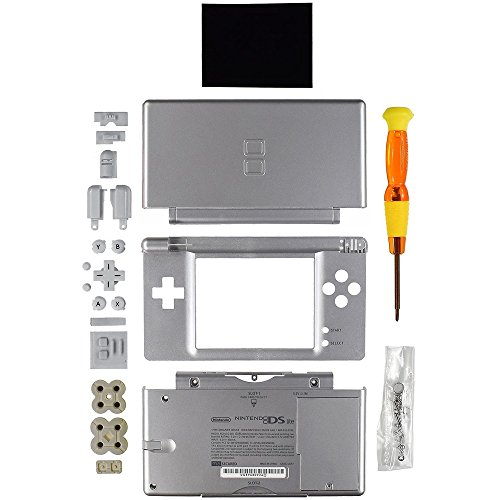 Nintendo DS Lite Replacement Case/Shell/Housing-Silver