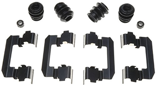ACDelco 18K1678X Professional Front Disc Brake Caliper Hardware Kit with Clips, Seals, and Bushings