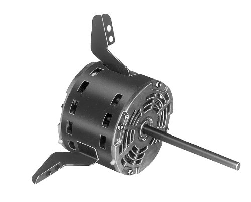 """Fasco D1732 5.6"""" Frame Open Ventilated Permanent Split Capacitor Direct Drive Blower Motor with Sleeve Bearing, 1/2-1/3-1/4HP, 1075rpm, 115V, 60Hz, 7.7-5.5-4.2 amps"""