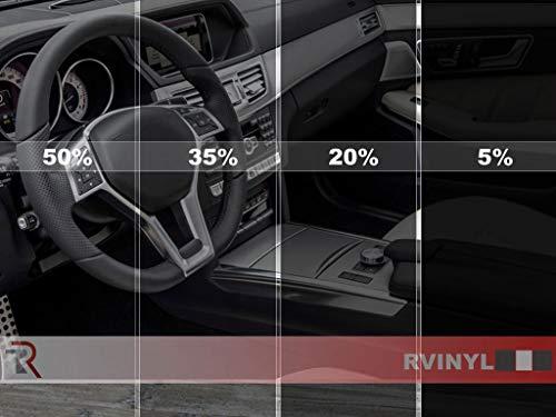 Rtint Window Tint Kit for Jeep Wrangler 2011-2018 (4 Door, JK) - Front Kit - 5%