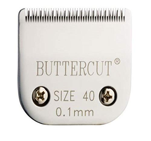 Geib Buttercut Stainless Steel Dog Clipper Blade, Size-40, 1/100-Inch Cut Length