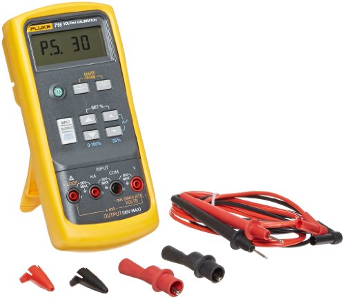 Fluke 715 Volt/mA Loop Calibrator, 0mV to 200mV Range