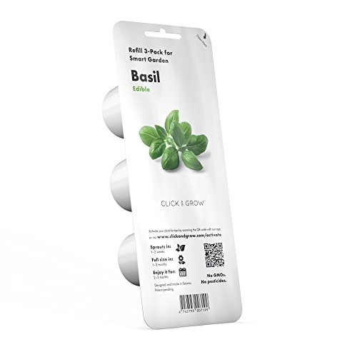 Click and Grow Smart Garden Basil Plant Pods, 3-Pack