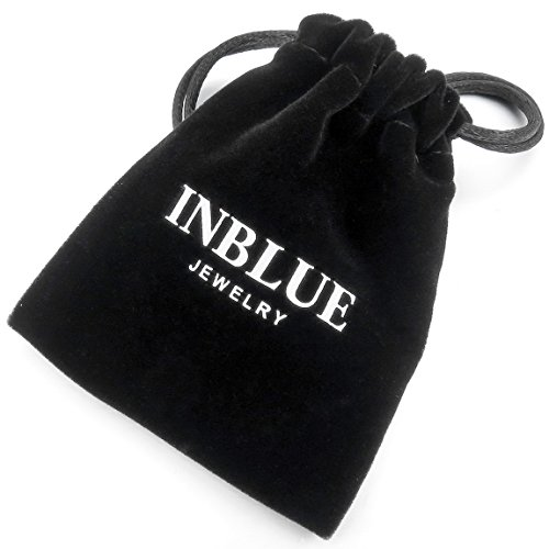 INBLUE Men's Alloy Genuine Leather Bracelet Bangle Cuff Silver Tone Brown Adjustable