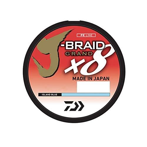 Daiwa JBGD8U15-3000DG J-Braid Grand 8X Bulk Spool 3000yds 15 lb. Test Fishing Line, Dark Green
