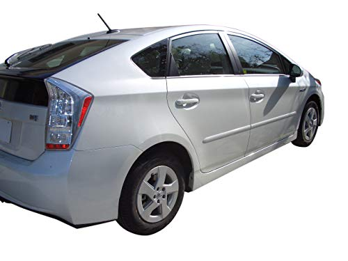 Body Side Moldings made for the Toyota Prius Painted in the Factory Paint Code of Your Choice 4T8