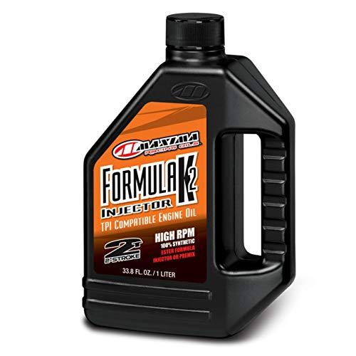 Maxima (22901) Formula K2 2-Stroke Synthetic Premix Racing Oil - 1 Liter Bottle