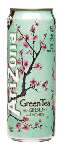 Arizona Green Tea, 23-Ounces (Pack Of 24)