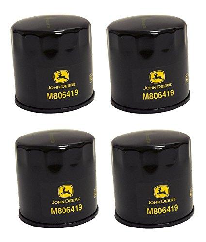 John Deere Original Equipment Oil Filter #M806419 (Qty 4)