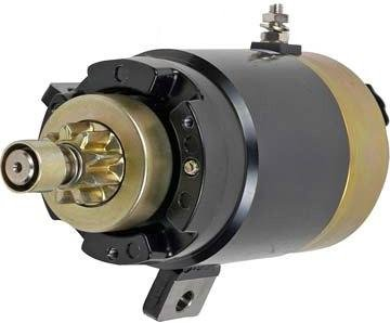 NEW STARTER COMPATIBLE WITH YAMAHA OUTBOARD 90TLR B90TLR C75TLR C80TLR S114-263B S114263B 18-6423 186423 688-81800-10 6888180010