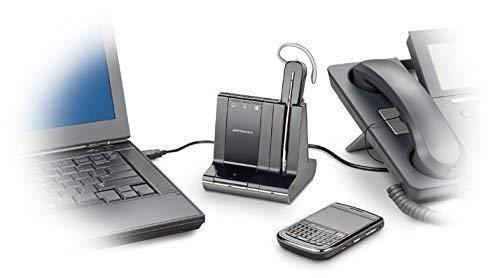Plantronics Savi 740 Wireless Headset System for Unified Communication (Renewed)
