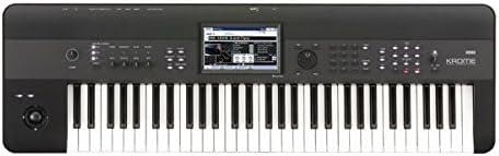 Korg KROME 61-Key Music Workstation Keyboard & Synthesizer