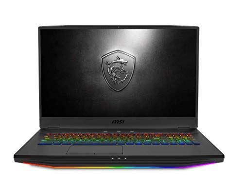 """MSI GT76 Titan DT-039 Gaming and Entertainment Laptop (Intel i9-9900K 8-Core, 128GB RAM, 2x2TB PCIe SSD RAID 0 (4TB) + 2TB HDD, 17.3"""" 4K UHD (3840x2160), RTX 2080, WiFi, Win 10 Pro)"""