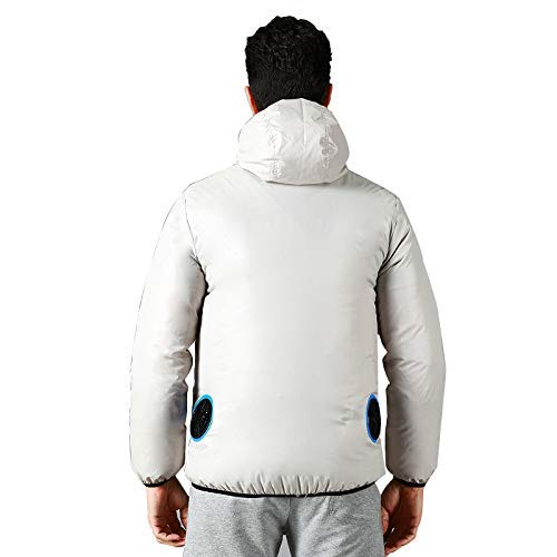 GOONFIT Cooling Fan Jacket,Air Conditioning Clothes,Summer Outdoor Work/Outwork Clothes