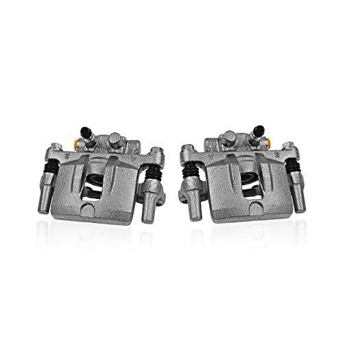 Callahan CCK04740 [2] REAR Premium Semi-Loaded Original Brake Caliper Pair + Hardware [ fit Buick Lucerne Cadillac DTS ]