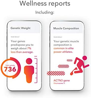23andMe Health + Ancestry Service: Personal Genetic DNA Test Including Health Predispositions, Carrier Status, Wellness, and Trait Reports (Before You Buy See Important Test Info Below) 5