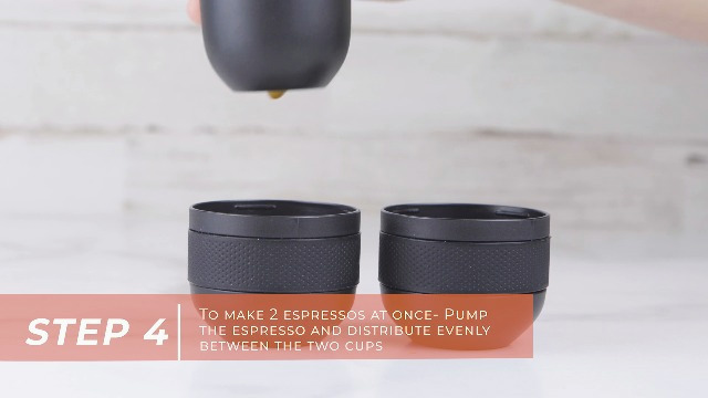 Wacaco Minipresso Tank+, Accessory for Minipresso NS or Minipresso GR Lungo Double Espresso