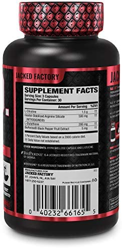 N.O. XT Nitric Oxide Supplement With Nitrosigine L Arginine & L Citrulline for Muscle Growth, Pumps, Vascularity, & Energy - Extra Strength Pre Workout N.O. Booster & Muscle Builder - 90 Veggie Pills 3