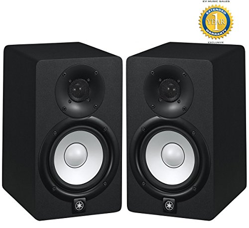 Yamaha HS5 70W Powered 2-way Studio Monitor (Pair) with 1 Year Free Extended Warranty