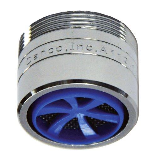 "Danco 10486 15/16""-27M x 55/64""-27F 1.5 GPM Laminar Water Saving Faucet Aerator, Chrome"