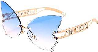 Butterfly Sunglasses for Women Oversized Sun Glasses...