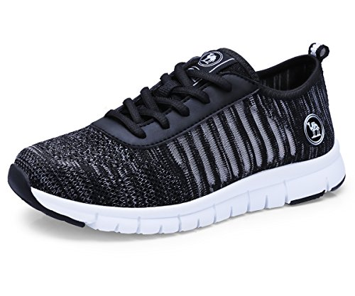 CAMELSPORTS Mens Lightweight Running Shoes Athletic Tennis Slip on Walking Shoes Breathable Casual Fashion Sneakers