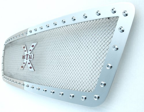 TRex Grilles 6714670 Small Mesh Stainless Polished Finish XMetal Grille Insert for Dodge Ram Pickup