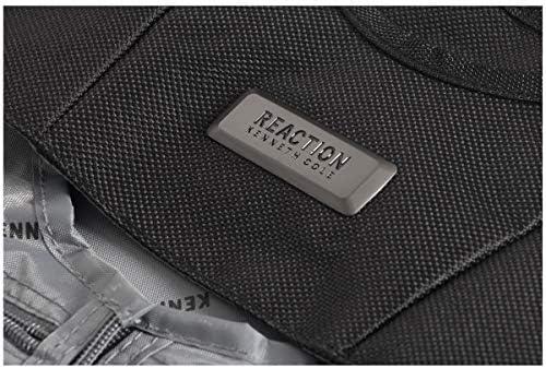 Kenneth Cole Reaction Folding Travel Garment Sleeve, Black, One Size