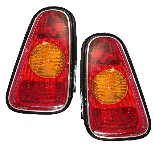 Driver and Passenger Taillights Tail Lamps Replacement for MINI 63216935783 63216935784 AutoAndArt