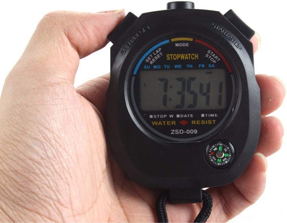 Pgzsy Multi-Function Digital Stopwatch