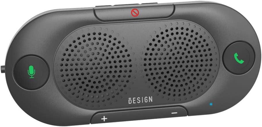 Besign BK06 Bluetooth 5.0 in-car Speakerphone with Visor Clip