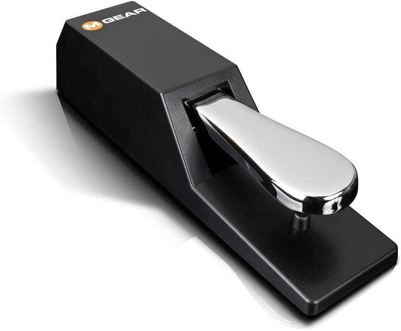 M Audio Sp 2 | Universal Sustain Pedal With Piano Style Action For Midi Keyboards, Digital Pianos