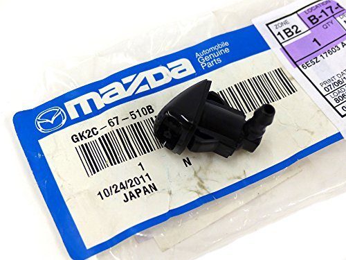 Mazda 2003-2008 6 Left Driver Windshield Wiper Washer Jet Nozzle OEM GK2C67510B
