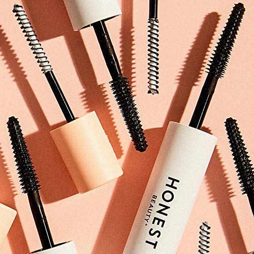 Honest Beauty Extreme Length Mascara + Lash Primer | 2-in-1 Boosts Lash Length, Volume & Definition | Silicone Free, Paraben Free, Dermatologist & Ophthalmologist Tested, Cruelty Free | 0.20 fl. oz.