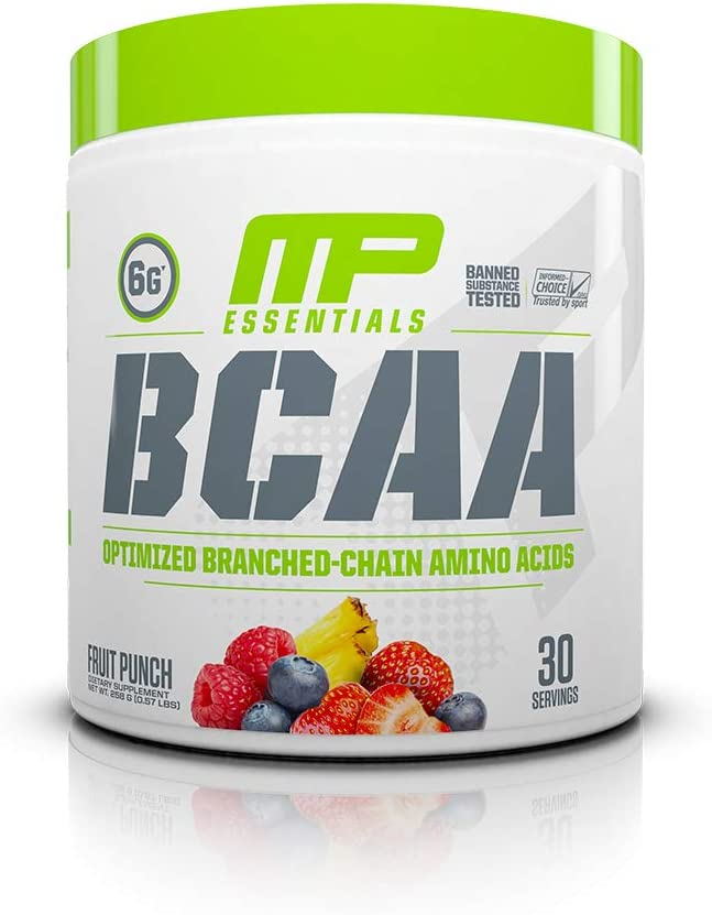 MP Essentials BCAA Powder Amino Acids Post-Workout Recovery Drink