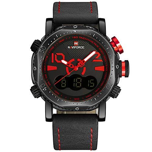 2018 New NAVIFORCE Fashion Quartz Digital Sports Army Military Watch Male Waterproof Wrist Watches