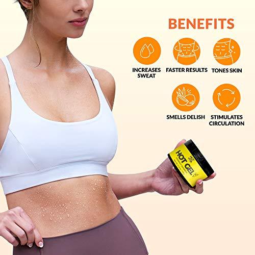 Hot Vita Hot Gel – Sweat Cream Workout Enhancer Belly Slimming Gel (6 oz) 3