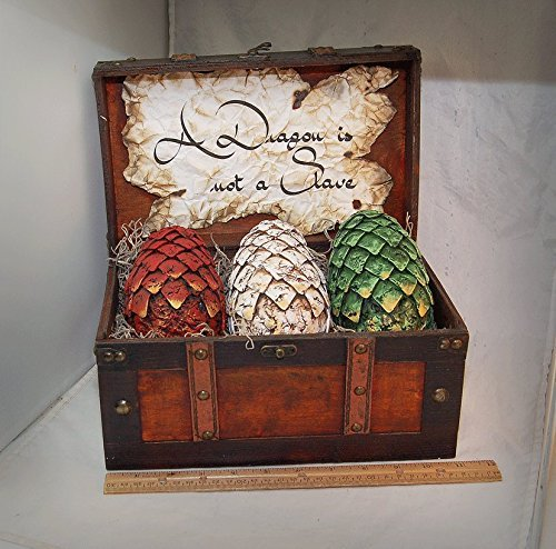 Hand Sculpted Painted Dragon Eggs Game of Thrones
