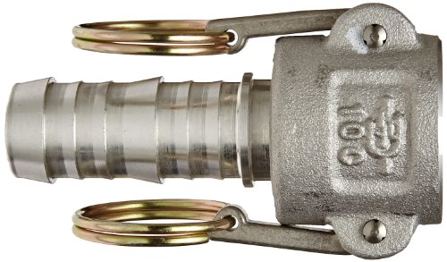 PT Coupling Basic Standard Series Aluminum Cam and Groove Hose Fitting, C-Coupler