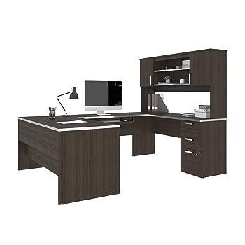 Bestar U Shaped Home Office Desk