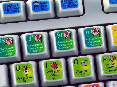 4Keyboard New FL Studio Sticker for Keyboard