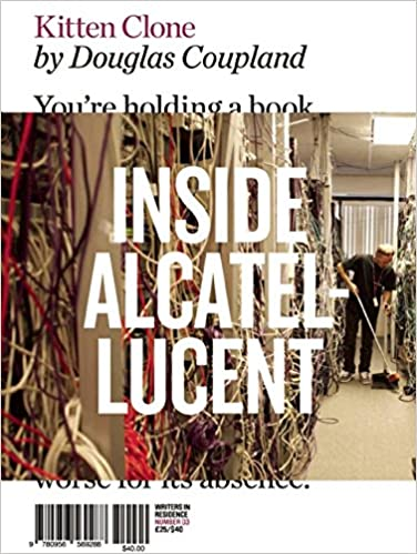 Book cover for Kitten Clone: Inside Alcatel-Lucent by Douglas Coupland