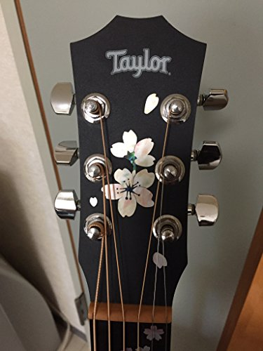 Inlay Sticker Decal for Guitar Headstock - Cherry Blossom/Sakura